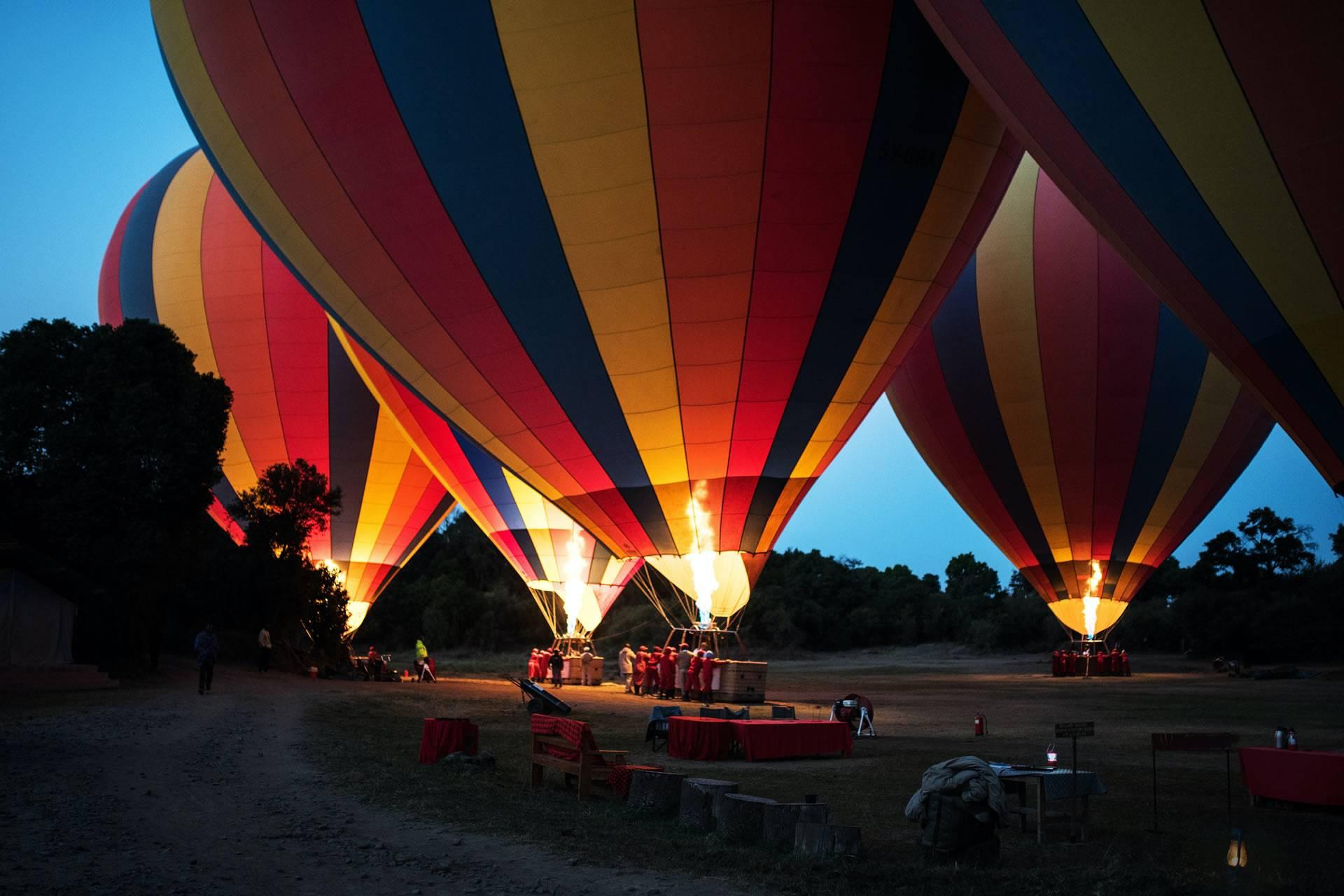 Tanzania Serengeti Air Balloon Safari